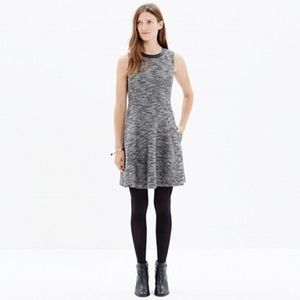NWT Madewell Tweed Fit & Flare Dress